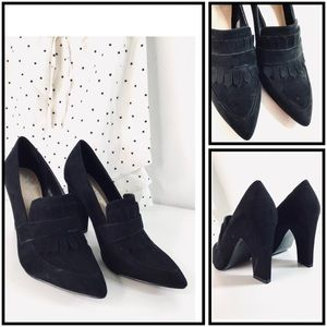 Nine West | Loafer Style Heels | 6.5M